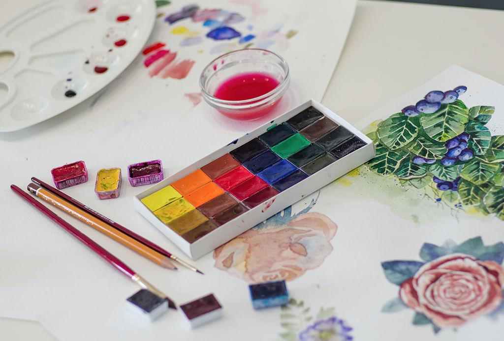 colores arte y diseño