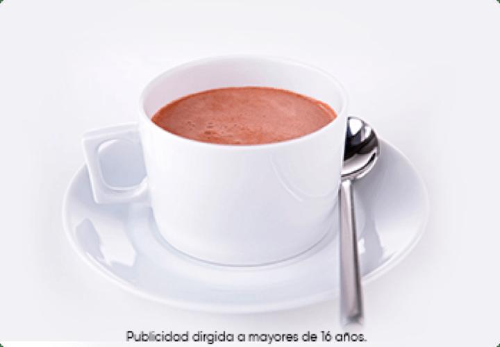 chocolate para tazas