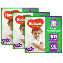 pack-huggies-panales-active-sec-pants-talla-xg-paquete-66un-x-3un