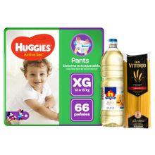 panales-huggies-active-sec-pants-talla-xg-paq-66un-aceite-nicolini-botella-1l-spaghetti-don-vittorio-bolsa-1kg