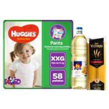 panales-huggies-active-sec-pants-talla-xxg-paq-58un-aceite-nicolini-botella-1l-spaghetti-don-vittorio-bolsa-1kg