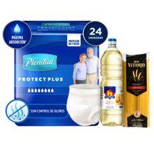 panal-plenitud-protect-plus-incont-intensa-talla-g-xg-paq-24un-aceite-nicolini-botella-1l-spaghetti-don-vittorio-bolsa-1kg