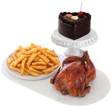 pollo-rostizado-papas-fritas-torta-de-chocolate-petit
