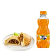 empanada-de-carne-gaseosa-fanta-naranja-botella-300ml