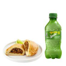 empanada-de-carne-gaseosa-sprite-botella-300ml