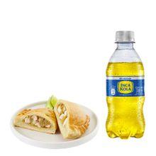 empanada-de-pollo-gaseosa-inca-kola-sin-azucar-botella-300ml