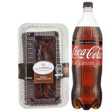 gaseosa-coca-cola-sin-azucar-botella-1-5l-keke-de-chocolate-la-florencia-bandeja-450g