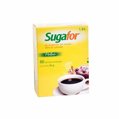 Endulzante-SUGAFOR-Libre-de-calorias-Caja-50g