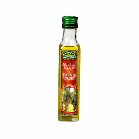 Aceite-de-oliva-ACAVILLE-Extra-virgen-100--natural-Botella-200ml