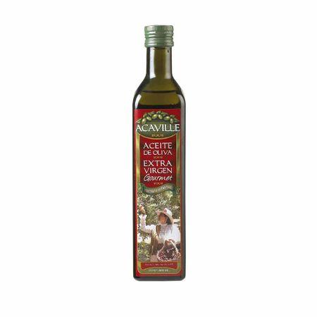 Aceite-de-oliva-ACAVILLE-Extra-virgen-gourmet-Botella-500ml