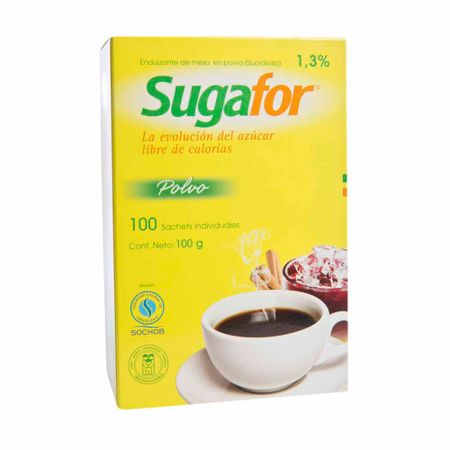 Endulzante-SUGAFOR-Libre-de-calorias-Caja-100g