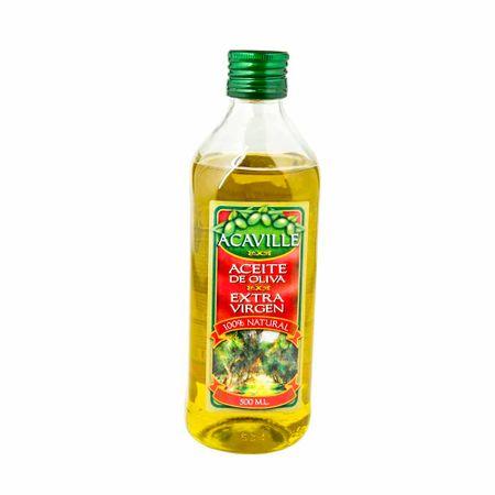 Aceite-de-oliva-ACAVILLE-Extra-virgen-100--natural-Botella-500ml