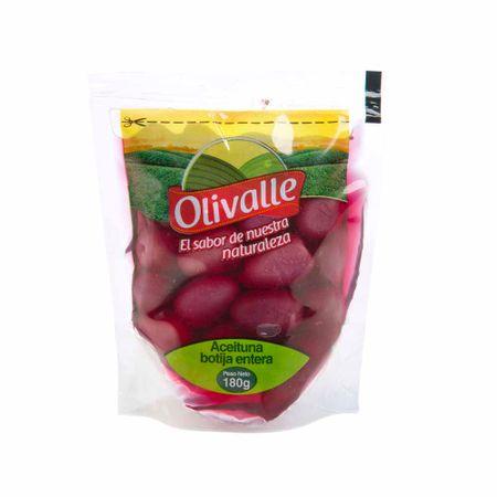 Aceitunas-verdes-en-Conserva-OLIVALLE-De-Botija-entera-Doypack-180g
