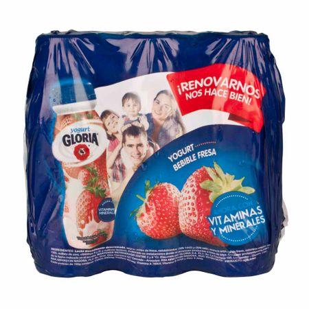 yogurt-gloria-bebible-sabor-fresa-pack-6un