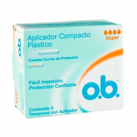 tampon-o.b-super-con-aplicador-caja-8un