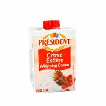 crema-de-leche-president-entera-uht-caja-200ml