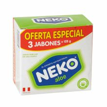 jabon-medicado-neko-aloe-3pack-375g