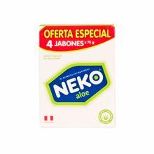 jabon-medicado-neko-aloe-4pack-300g