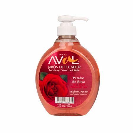 jabon-liquido-intra-aval-petalos-de-rosa-botella-400ml