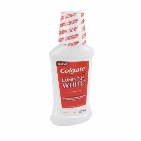 enjuague-bucal-colgate-luminous-white-botella-250ml
