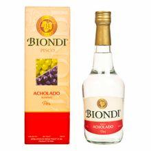 Pisco Biondi Acholado Botella 500Ml