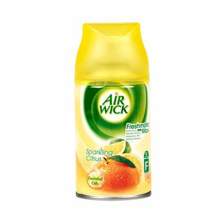 Ambientador-electrico-liquido-AIR-WICK-Sparkling-citrus-Botella-250Ml