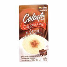 Cafe-en-polvo-COLCAFE-Capuccino-mocca-Caja-108Gr