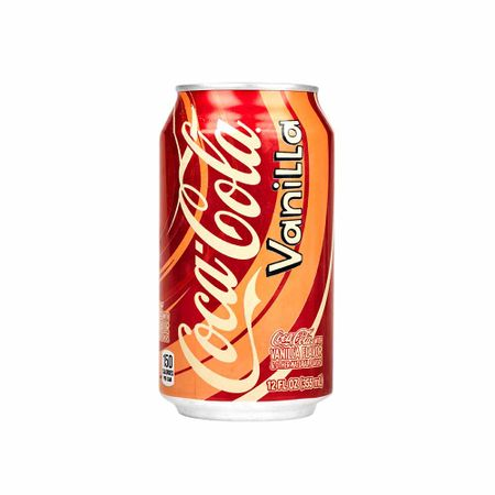 Gaseosa Coca Cola Vainilla Lata 355ml Supermercado