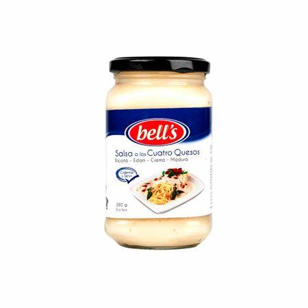 Salsa-BELL-S-Cuatro-quesos-Frasco-380Gr