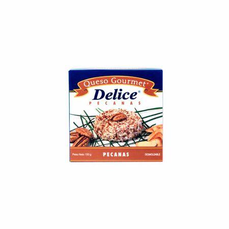 Queso-DELICE-GOURMET-Crema-pecanas-Pote-150Gr