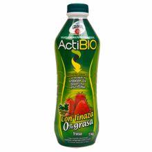 Yogurt-GLORIA-ACTIBIO-Fresa-con-linaza-Botella-1Kg