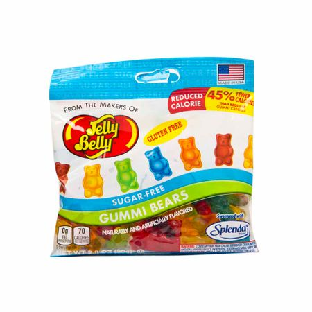 Caramelos-JELLY-BELLY-GUMMI-BEARS-Gomas-libres-de-azucar-bolsa-80Gr