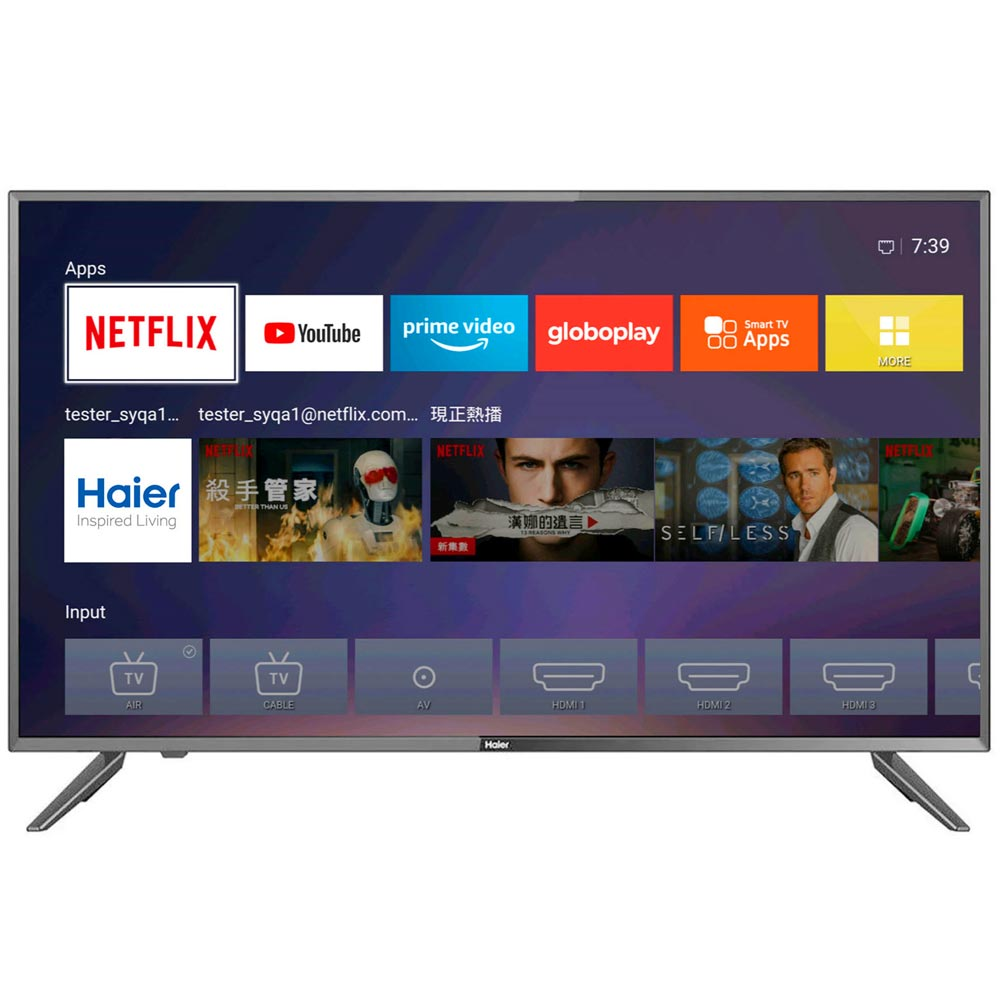 Televisor HAIER LED 42'' Full HD Smart TV H42D62FN | plazaVea - Supermercado