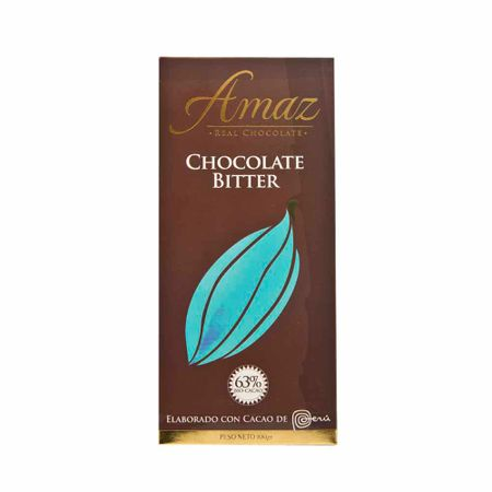 Chocolate-AMAZ-En-barra-bitter-Caja-100Gr