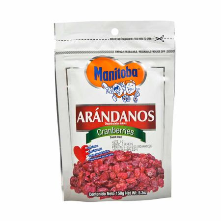 Piqueo-MANITOBA-Arandanos-dulces-Doypack-150Gr