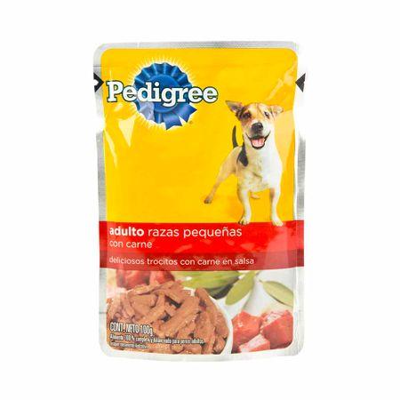comida-para-perros-pedigree-con-carne-bolsa-100gr