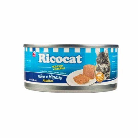 comida-para-gatos-rintisa-ricocat-pavo-e-higado-lata-170gr