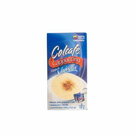 cafe-en-polvo-colcafe-capuccino-vainilla-caja-108gr