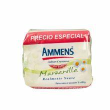 jabon-para-bebe-ammens-for-baby-manzanilla-3-pack-120gr