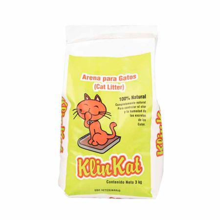arena-klin-kat-para-gatos-100-natural-bolsa-3kg