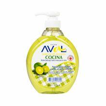 jabon-liquido-aval-limon-frasco-400ml