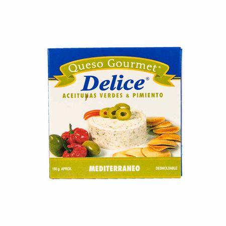 queso-delice-gourmet-mediterraneo-caja-150gr