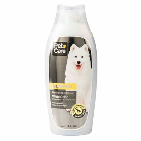 shampoo-pet-care-white-color-frasco-330ml