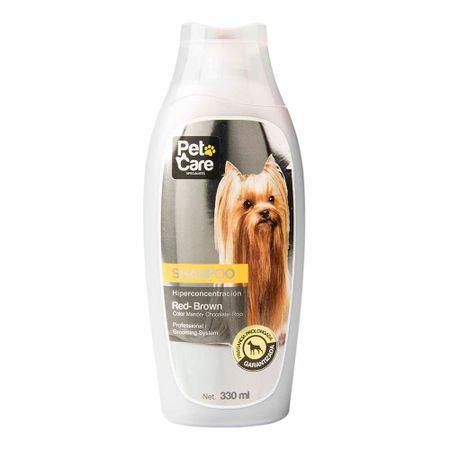 shampoo-pet-care-red-brown-color-frascco-330ml