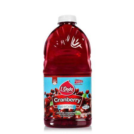 40d06bbe4 Jugo de Fruta L'ONDA Cranberry con Splenda Botella 1.89L