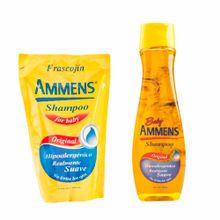 shampoo-para-bebe-ammens-original-frasco-400ml-doypack-400ml