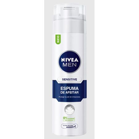 espuma-nivea-for-men-sensible-frasco-200ml