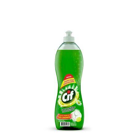 lavavajilla-liquido-cif-limon-frasco-300ml