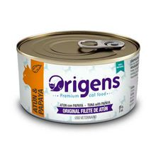 comida-para-gatos-origens-filete-de-atun-con-papaya-85gr