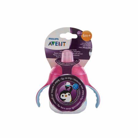 accesorios-para-bebe-avent-taza-spout-premium-rosado-7oz
